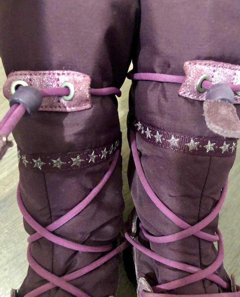 Термо сапожки детские для девочки ecco р. 30 фото №2