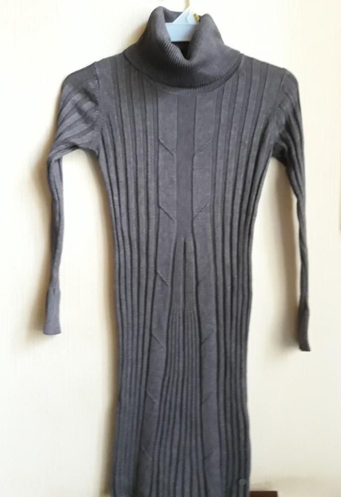 Платье-свитер-гольф malvin рр м фото №1