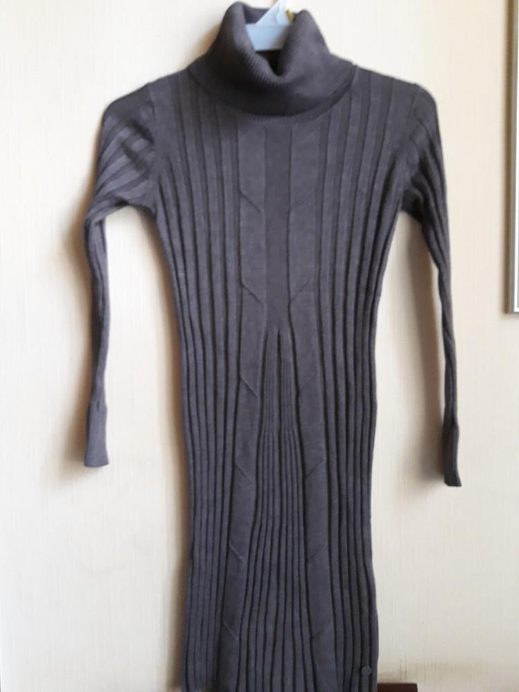 Платье-свитер-гольф malvin рр м фото №3