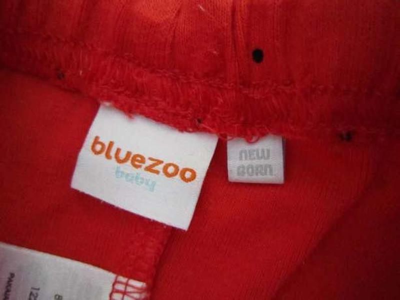 Набор: ползунки и шапочка для новорожденных фирмы bluezoo фото №3