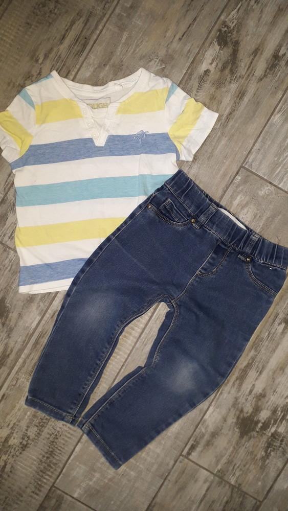 Стильные джинсики skinny)18-24 мес фото №1