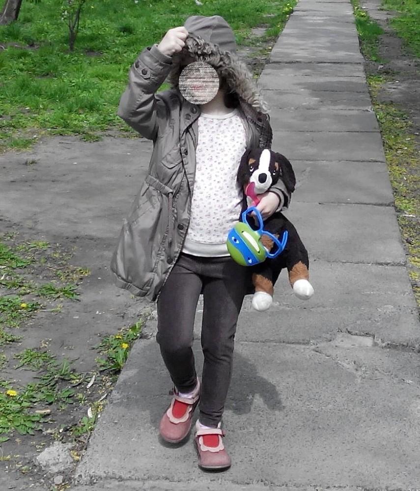 Курточка деми next для девочки 5-7 лет фото №10