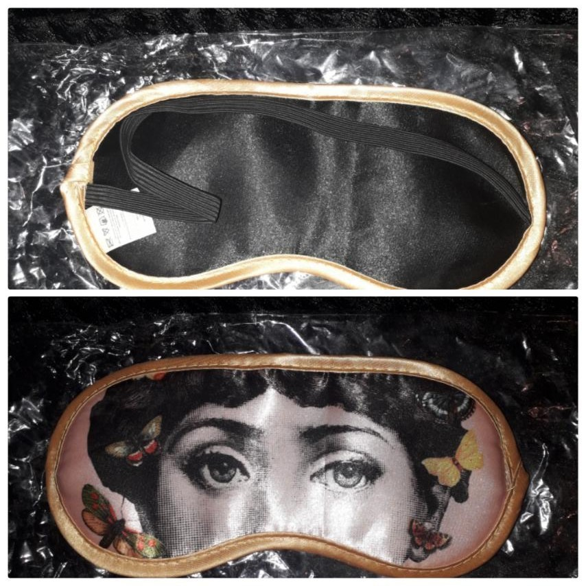 Нова стильна маска для сну фото №1