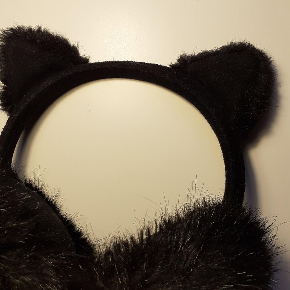 Хутряні навушники h&m фото №8