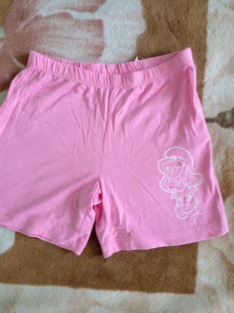 Новые хлопковые шортики для девочки. на 116-128 фото №1