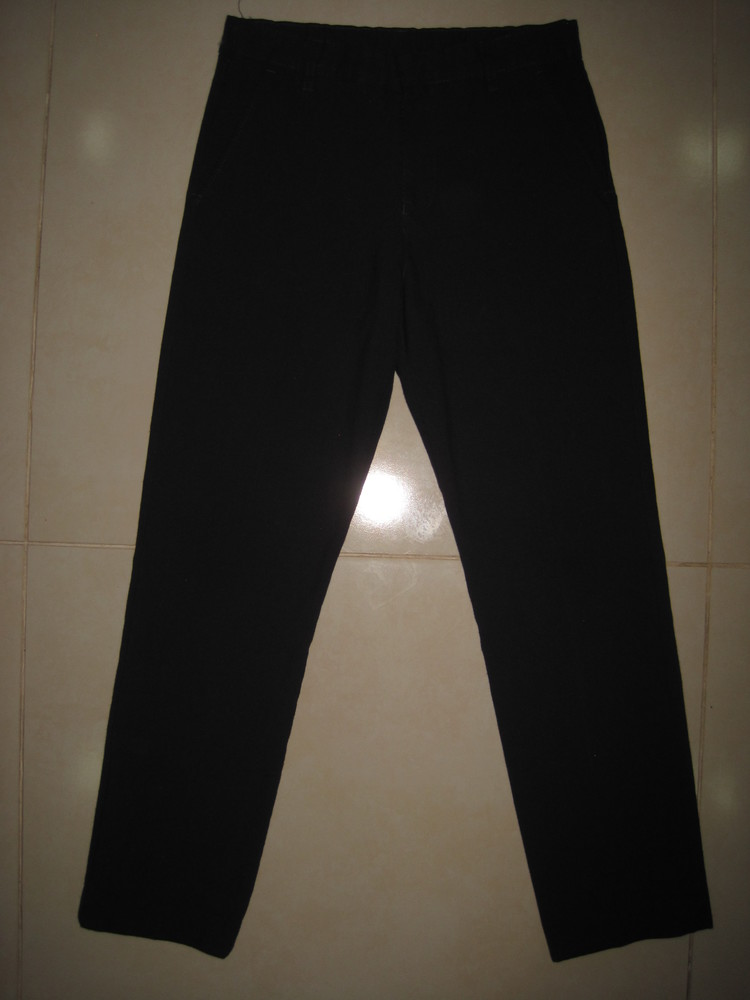 1/389. штаны для мальчика. на 9-10 года, рост 140 см (см. замеры). m&s. в отличном состоянии. фото №1