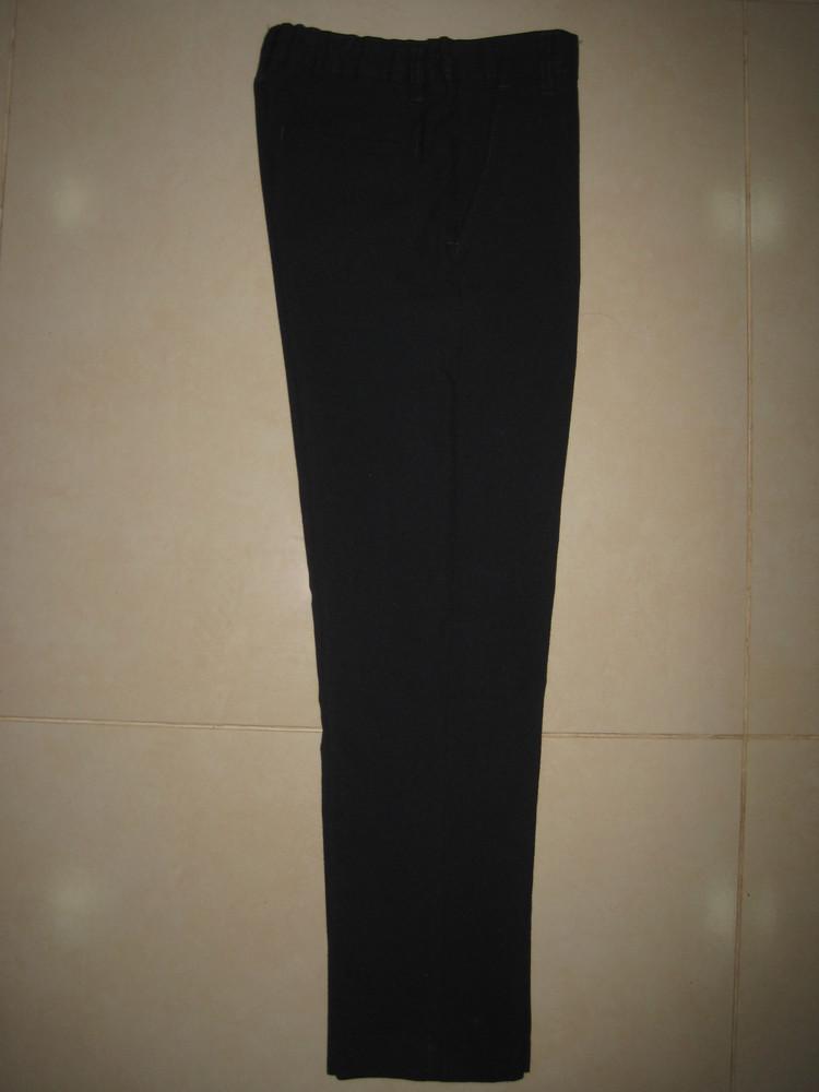 1/389. штаны для мальчика. на 9-10 года, рост 140 см (см. замеры). m&s. в отличном состоянии. фото №2