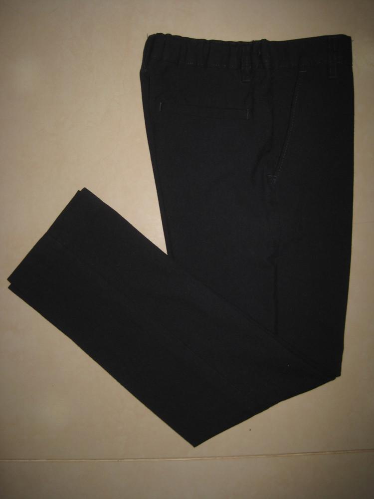 1/389. штаны для мальчика. на 9-10 года, рост 140 см (см. замеры). m&s. в отличном состоянии. фото №3