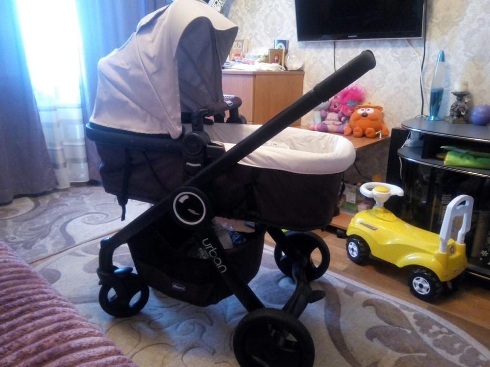 Продам стильную, универсальную и удобную коляску чико урбан, три положения фото №10