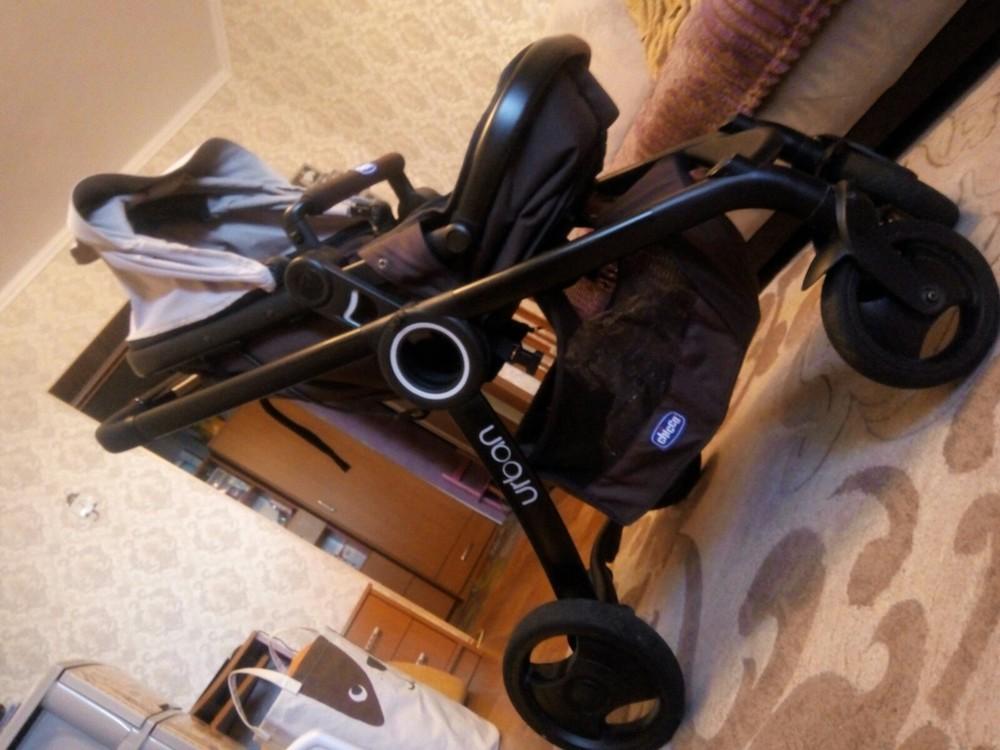 Продам стильную, универсальную и удобную коляску чико урбан, три положения фото №3