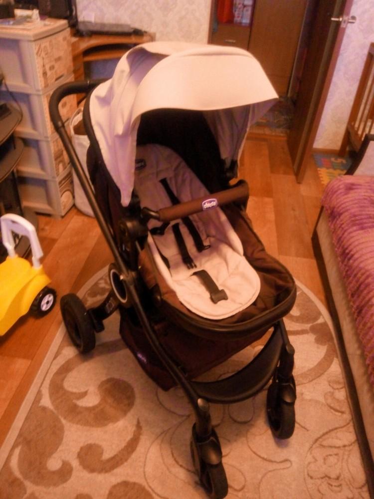 Продам стильную, универсальную и удобную коляску чико урбан, три положения фото №6