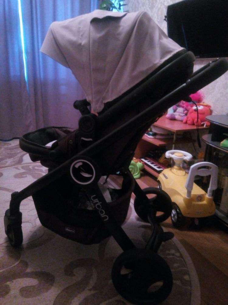 Продам стильную, универсальную и удобную коляску чико урбан, три положения фото №7