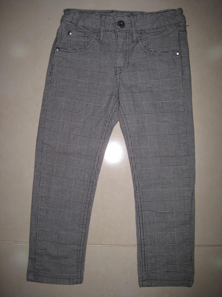1/415. штаны детские. на 3-4 года, рост 104 см. (см. замеры). h&m. в хорошем состоянии! фото №1