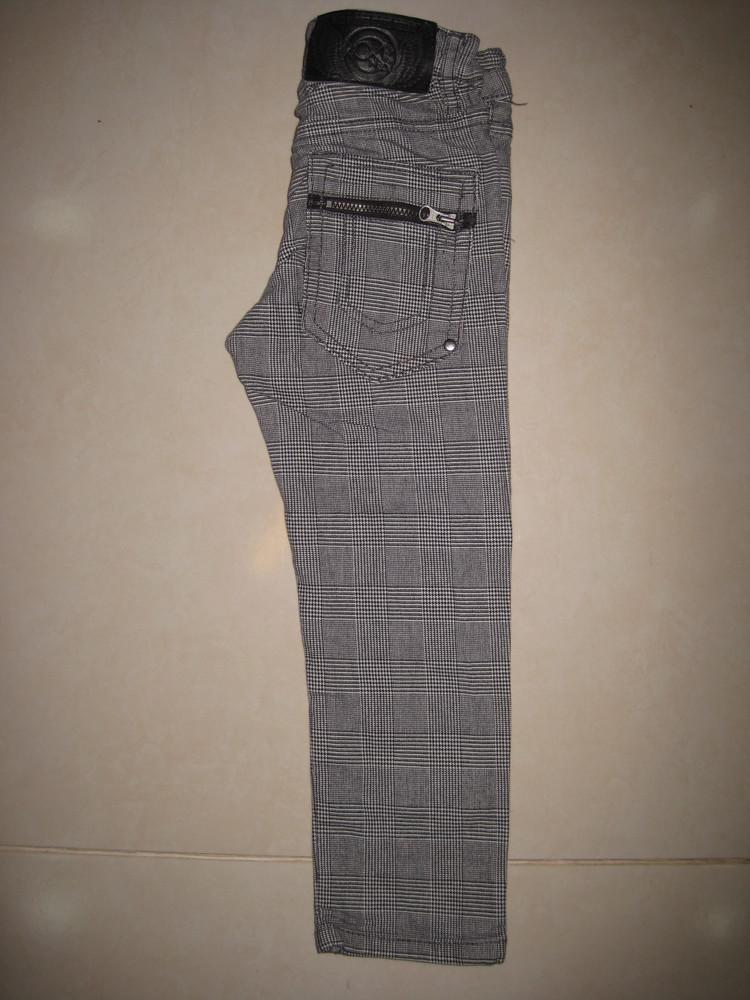 1/415. штаны детские. на 3-4 года, рост 104 см. (см. замеры). h&m. в хорошем состоянии! фото №3