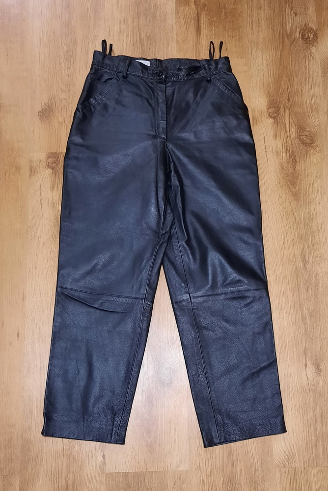 Кожаные штаны canda натуральная кожа размер l-xl фото №1