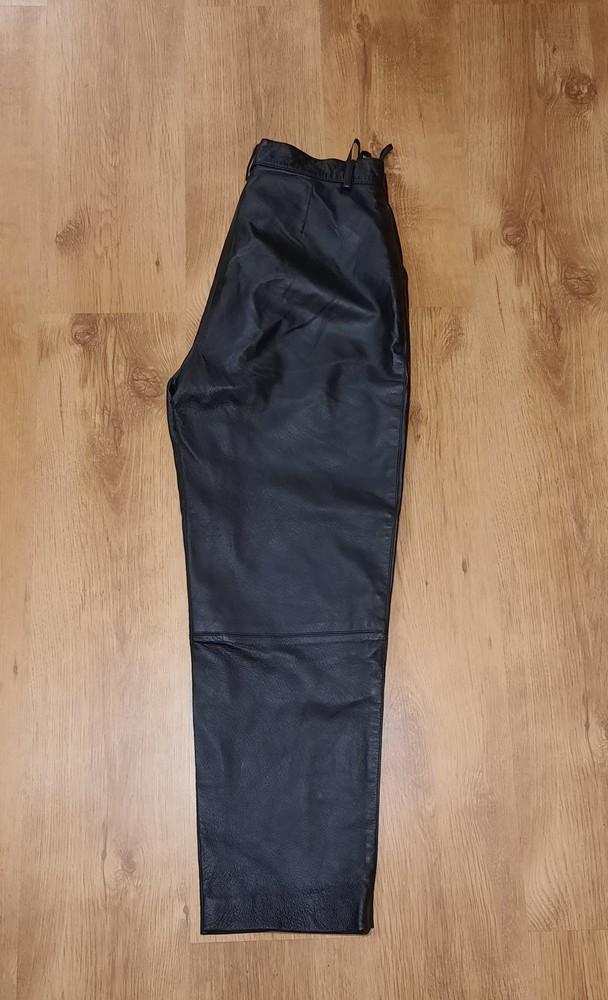 Кожаные штаны canda натуральная кожа размер l-xl фото №2