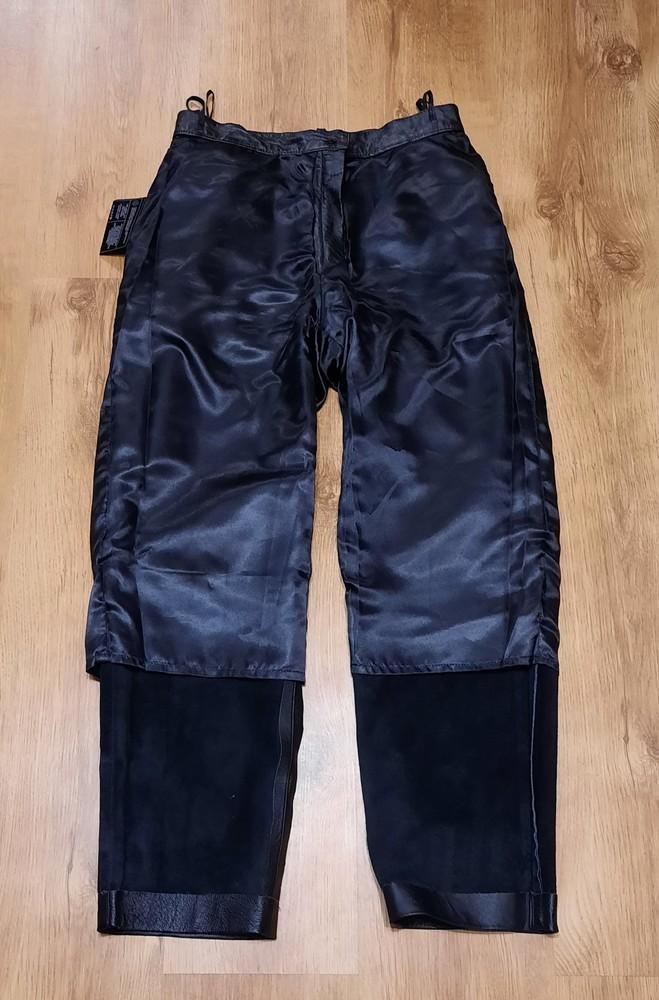 Кожаные штаны canda натуральная кожа размер l-xl фото №3