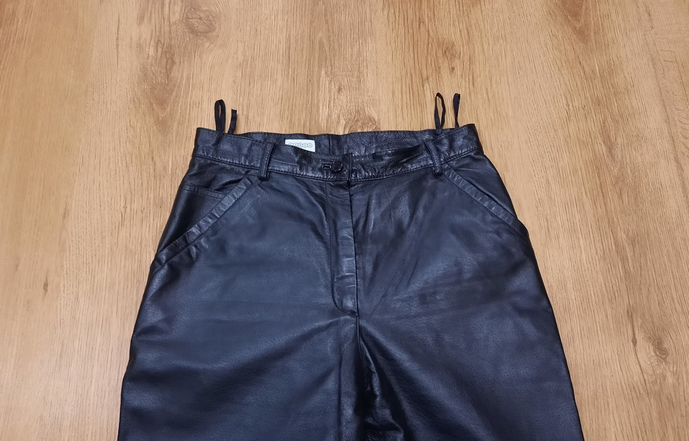 Кожаные штаны canda натуральная кожа размер l-xl фото №4