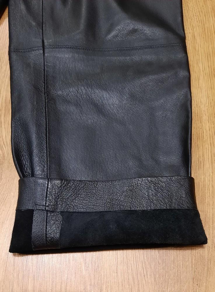 Кожаные штаны canda натуральная кожа размер l-xl фото №7